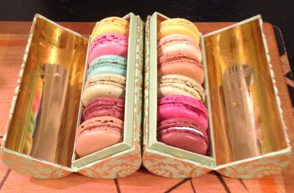 A delicious array of macaron from Laduree
