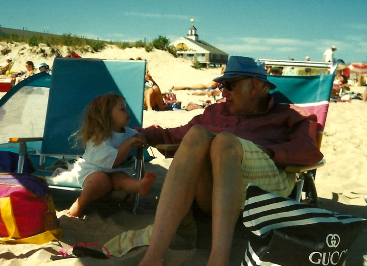My grandpa, and I in 1994.
