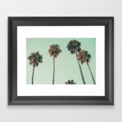 palm-trees-at-sunset273705-framed-prints