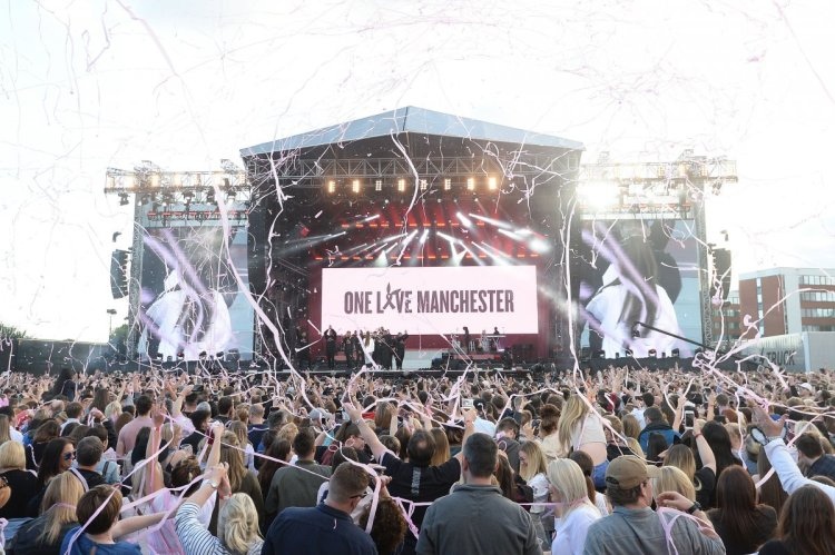 the-one-love-manchester-benefit-concert-for-the-victims-of-the-manchester-arena-terrorist-attack-was-held-at-the-old-trafford-cricket-ground-in-manchester-which-has-a-capacity-of-about-50000